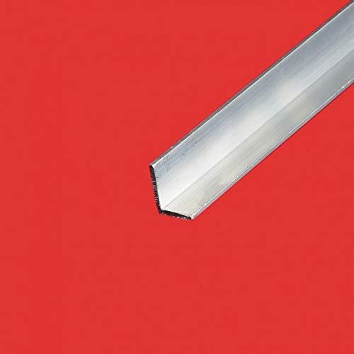 Commentfer - Corniere inegale alu 80x40 Epaisseur en mm - 4 mm, Longueur en metre - 4 metres, Sections en mm - 80 x 40 mm