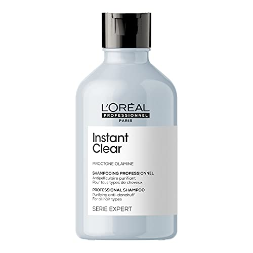 L'Oréal Professionnel Serie Expert Instant Clear Shampoo | For anti-dandruff action |PIROCTONE OLAMINE + CITRIC ACID, 300ML