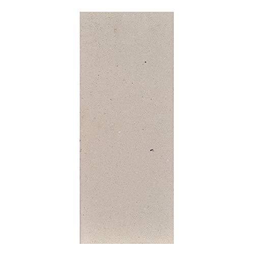FIREFIX 2046 2052 - Piedra refractaria (Moldeada) de 30 mm de Grosor, 400 x 160 mm, Color Amarillo