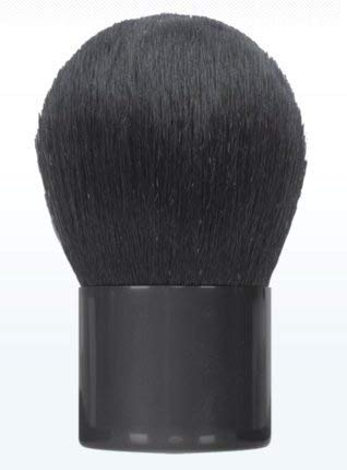 Kryolan 1732 Kabuki Make-up Applikator Pinsel (Kunstfasern) inkl. Tasche