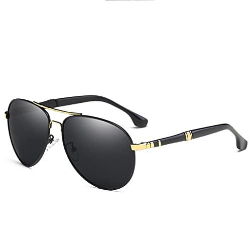 LUOXUEFEI Gafas De Sol Hombres Espejo Gafas de sol Gafas de sol Hombres Gafas de conducción Gafas de sol