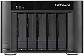 Infortrend EonStor GSe Pro 200 GSEP2050000D-6T 5 Bay 5 X6 TB Desktop NAS for SMBs and Workgroups