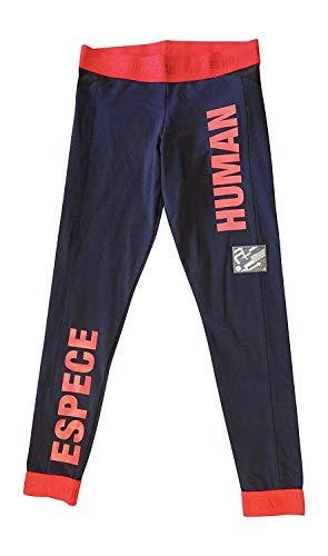 adidas X Pharrell Williams Human Race Donne Leggings Pants (UK 10 US Small, Navy Red BK4287)