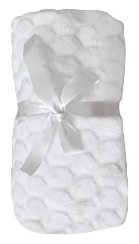 Manta de Forro Polar Suave de Lujo para bebé