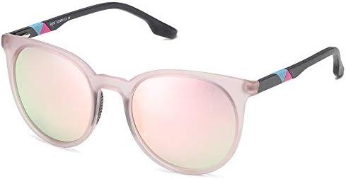 SOJOS UV400 Polarized Sports Sunglasses for Women Oversized TR90 Frame SJ2092 with Matte Greyish product image