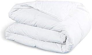 Amazinggirl Bettdecke 135x200 winterdecke Steppdecken Schlafdecke - Winterbettdecke warm für Allergiker Steppbettdecke weiß hypoallergen aus Microfaser 135 200
