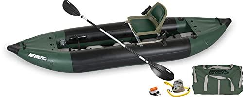Sea Eagle 350FX Inflatable Fishing Explorer Kayak Package