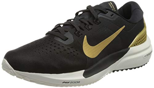Nike Wmns Air Zoom Vomero 15, Zapatillas para Correr Mujer, Oil Grey Mtlc Gold Ivory Platinum Tint, 39 EU