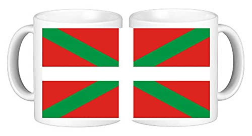 Taza de café de cerámica en caja a prueba de esmash