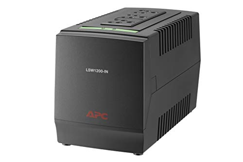 APC LSW1200 – 600 Watt, 230V - Voltage Stabilizer (160-285V...