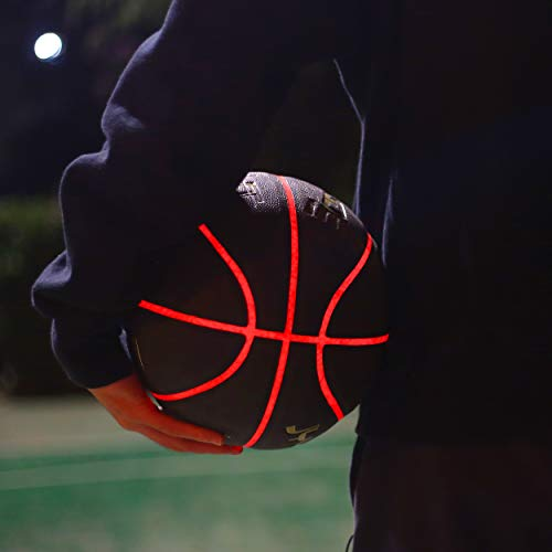 Learn More About JYMingde Light Up Professional PU Leather Basketball with Spare Batteries-Uses Two ...