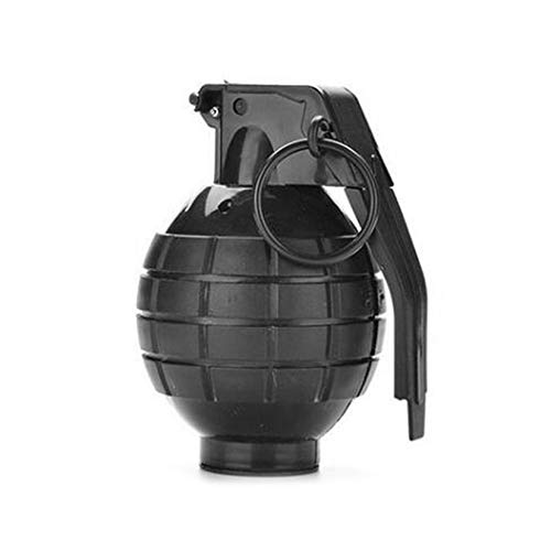 ZengBuks Durable Toy Granate Toy Ammo Spiel Bomb Launcher Blast Replica Military - Schwarz