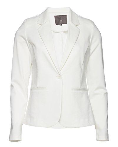 ICHI Damen KateIH Bl Blazer, Weiß (Cloud Dancer 10111), 38 (Herstellergröße: M)