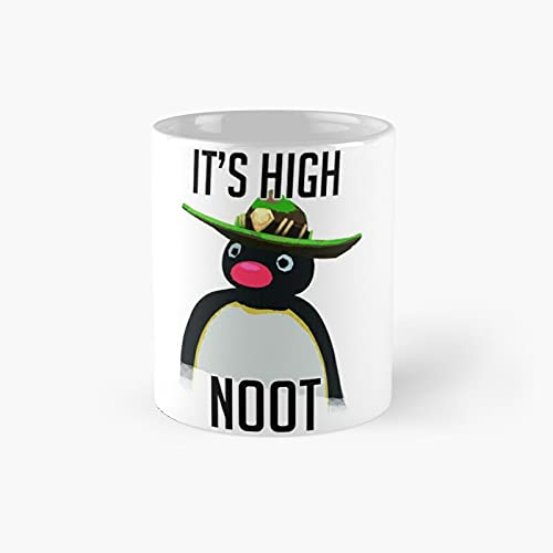 High Noot Classic Mug - 11 Ounce For Coffee, Tea, Chocolate Or Latte.