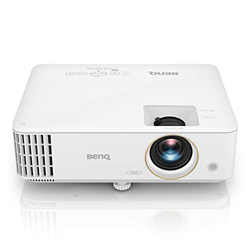 BenQ TH585 Full HD DLP Projector with Amazon Fire TV Stick, 3500 Lumen, 1080p, 95% Rec.709, Low Latency, HDMI, 3D, 10W Speaker, Auto Keystone, Digital Lens Shift, 15000 Hrs Lamp Life