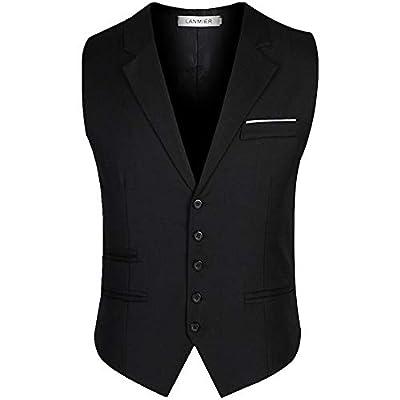 スーツ ベスト 襟付き