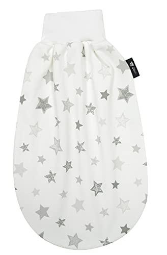 Alvi Baby Schlupfmäxchen light Exclusiv | Schlafsack 0-3 Monate | Baby-Schlafsack 100% Baumwolle | Sommerschlafsack waschbar