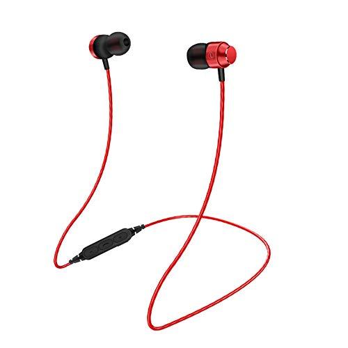 EUCoo Mini Cuffia Bluetooth 4.1 Il Suono del Canale Stereo è Chiaro Collo Appeso Compatto e Comodo per trasportare Cuffie Senza Fili