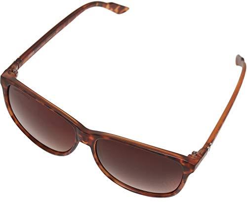 Urban Classics Unisex Sunglasses Chirwa UC Sonnenbrille, brown leo, one size