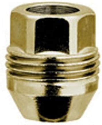 M12 x 1.5 Thread Size Box of 50 McGard 65002GD Chrome//Gold SplineDrive Lug Nuts