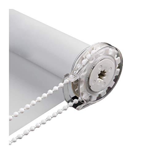 LIQICAI Estor Enrollable, Aislamiento Térmico Protección UV Parasol Romano De Elevación Manual, Puede Tamaño Personalizado, con Accesorios (Color : Gray-A, Size : 55cmX160cm)