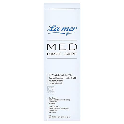 La Mer Med - Crema facial de día sin perfume: tamaño estándar (50ml)