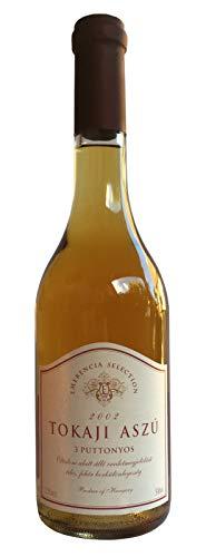 Tokaji Aszu 3 Puttonyos - Emerencia Selection - Jahrgang 2002, Dessertwein aus Ungarn, Weißwein, Süß, Tokajer Aszú