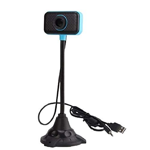Fransande Webcam sin controlador USB con micrófono para ordenador de sobremesa o PC portátil