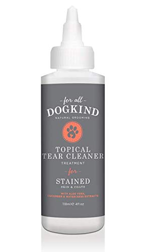 For All DogKind Topical Tear & Saliva Stain Remover | Natural Cleansing...
