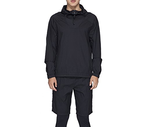 RLM & DEALUNA 남자 스포츠 1   4 ZIP PULLOVER 캐주얼 경량 재킷