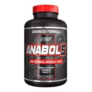 Nutrex Research Anabol 5 Testosterone Support Capsules - Tub of 120 by Nutrex