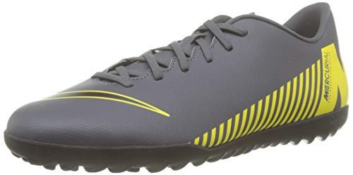 Nike Herren Vaporx 12 Club Tf Fußballschuhe, Schwarz (Schwarz 0), 42 EU