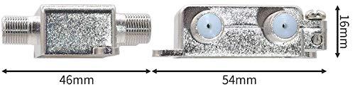 『オーディオファン 混合分波器 アンテナ 3224MHZ 対応 ノイズ 8K 4K AFMG ケーブル別』の2枚目の画像