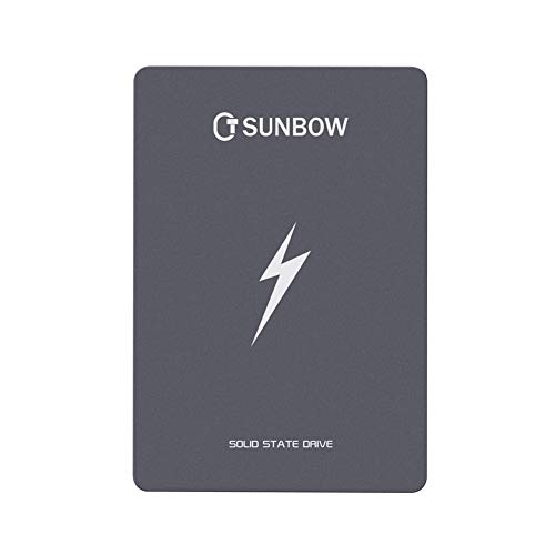 TCSUNBOW 60GB 64GB SSD 2.5 Inch SATAIII 6GB/s Internal Read 462MB/S Write 70MB/S Solid State Drive for Notebook Tablet Desktop PC(X3 60GB)