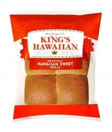 King's Hawaiian Original Hawaiian Sweet Dinner Rolls (32 x 4 packs per case)