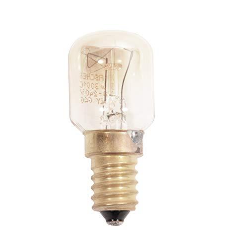 Lampe de four micro-ondes 25 W E14 300 C: Ariston, Cannon, Creda, Hotpoint, Indesit, Jackson, four micro-ondes 25w ampoules de four Culot ses 300°C