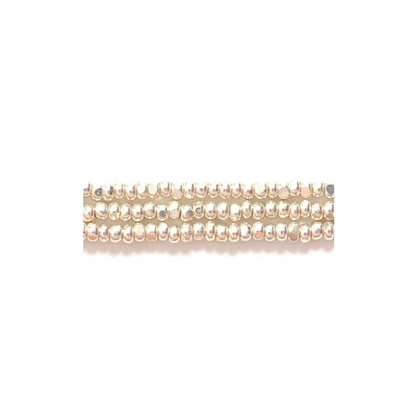 Preciosa Ornela Czech Seed Bead, True Cut Metallic Silver, Size 11/0