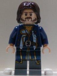 LEGO Pirati Dei Caraibi: Admiral Norrington Minifigura