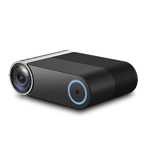 CGGA Proyector LED, 1280 x 720p Wireless Wifi Vedio Beamer, 4500 lúmenes proyector de película portátil con 30.000 horas de vida de la lámpara LED, compatible con Hdmi, Vga, Tf, Av y Usb