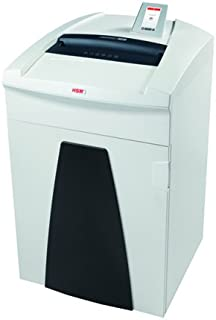 HSM SECURIO P36iL6 OMDD Combo Shredder, 2500 Optical Media Pieces per Hour/12-14 Sheets, 38.3-Gallon Capacity Continuous O...