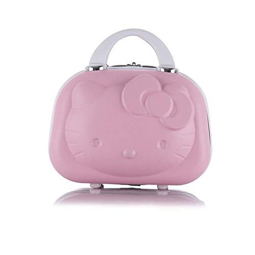 Waterdichte Hot Fashion ABS Waterdichte Koffer Cosmetische Case Hello Kitty Ontwerp Reizen Koffer Kan worden Set Trolley Case make-up Box A1