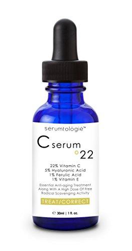 Serumtologie C Serum for Face 22% Vitamin C + E + Hyaluronic Acid Professional Anti-Aging