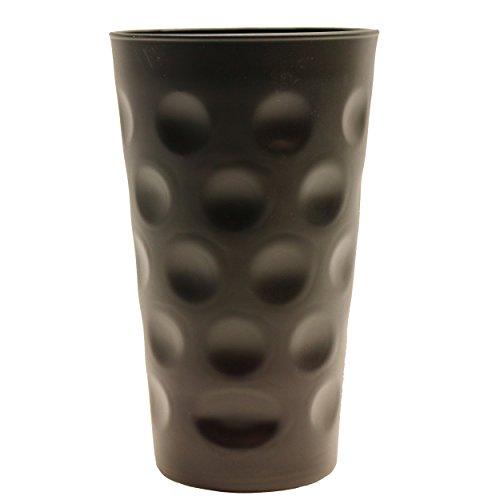 Pfälzisch.com Dubbeglas/Schoppenglas schwarz 0,5 Liter (Farbige Dubbegläser)