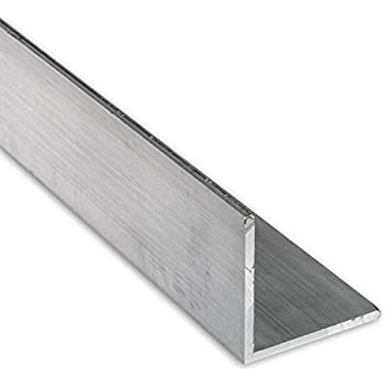 Amazon Com 4 Ft 2 X 1 8 Aluminum Angle 6063 Alloy T 6 Temper Home Improvement