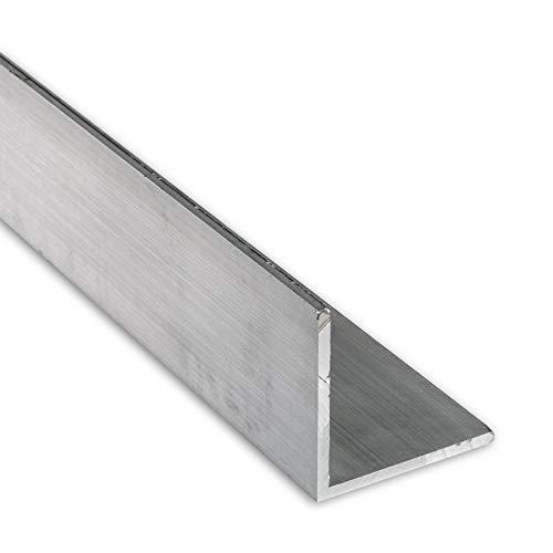 """4 FT - 2"""" x 1/8"""" Aluminum Angle 6063 Alloy T-6 Temper"""