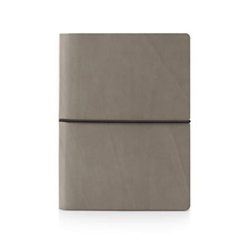 Ciak Notizbuch liniert 15x21cm - grau