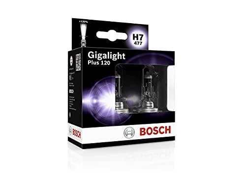 Bosch H7 Plus 120 Gigalight Lampen - 12 V 55 W PX26d - 2 Stücke