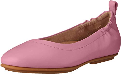 FitFlop Women's Allegro Ballet Flat, Rose, US08 M US