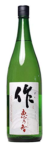作 恵乃智 純米吟醸酒 ざく めぐみのとも 1800ml 日本酒 1.8