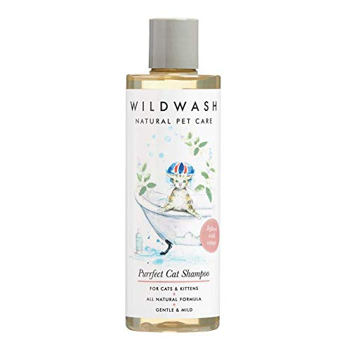 WildWash Haustier Purrfect Cat Pet Shampoo